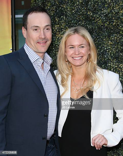 Actor Chris Klein and Laina Rose Thyfault attend the premiere of Roadside Attractions' Godspeed Pictures' 'Where Hope Grows' at ArcLight Cinemas on...