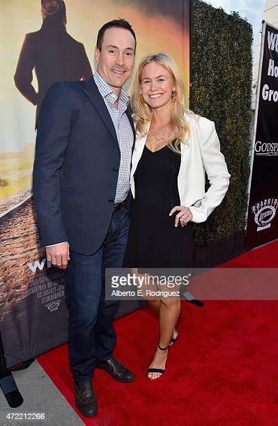 Actor Chris Klein and Laina Rose Thyfault attend the premiere of Roadside Attractions' Godspeed Pictures' Where Hope Grows at The ArcLight Cinemas on...