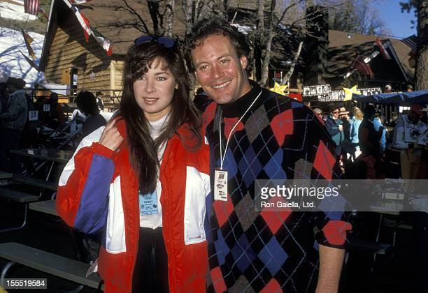 Actor Chris Lemmon and wife Gina Raymond attend the Fifth Annual Steve Kanaly Invitational Celebrity Ski Classic to Benefit the March of Dimes on...