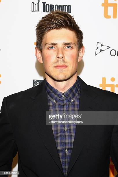 Actor Chris Lowell attends the Katie Says Goodbye premiere held at TIFF Bell Lightbox during the Toronto International Film Festival on September 11...
