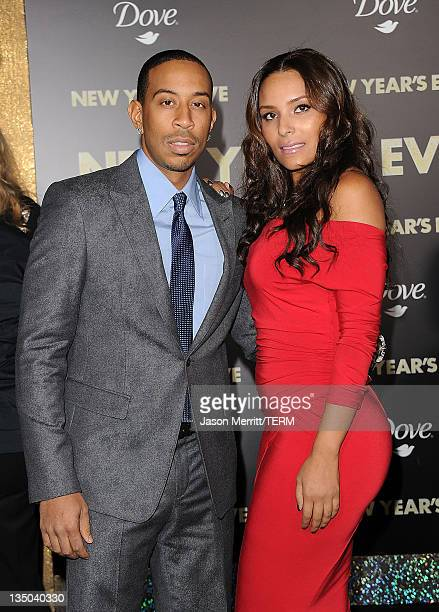 Actor Chris Ludacris Bridges and Eudoxie arrive at the premiere of Warner Bros Pictures' 'New Year's Eve' at Grauman's Chinese Theatre on December 5...