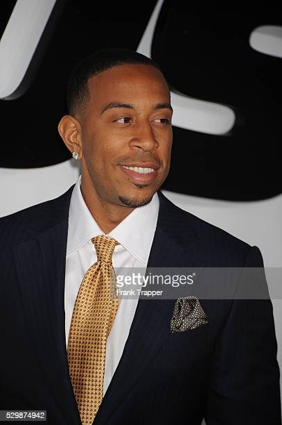Actor Chris 'Ludacris' Bridges arrives at the premiere of Furious 7 held at the TCL Chinese Theater in Hollywood