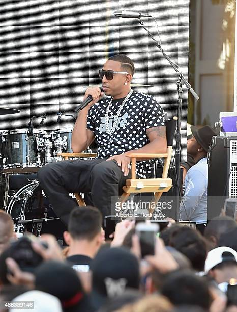 Actor Chris 'Ludacris' Bridges attends Revolt Live Hosts Exclusive 'Furious 7' Takeover with Musical Performances From the Official Motion Picture...