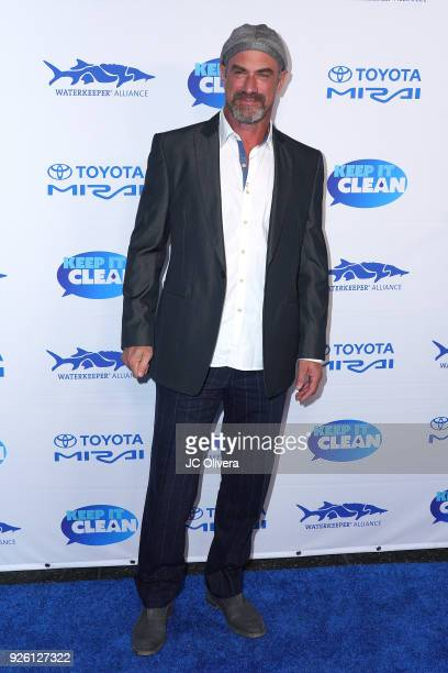Actor Chris Meloni attends Keep It Clean Live Comedy Benefit for Waterkeeper Alliance at Avalon on March 1 2018 in Hollywood California