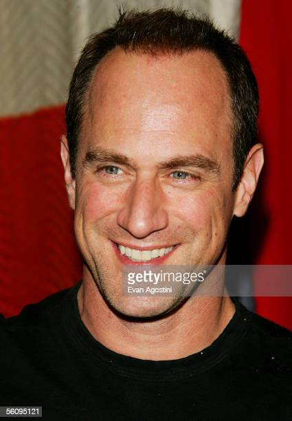Actor Chris Meloni attends the Big Apple Circus opening night gala benefit at Damrosch Park Lincoln Center November 04 2005 in New York City