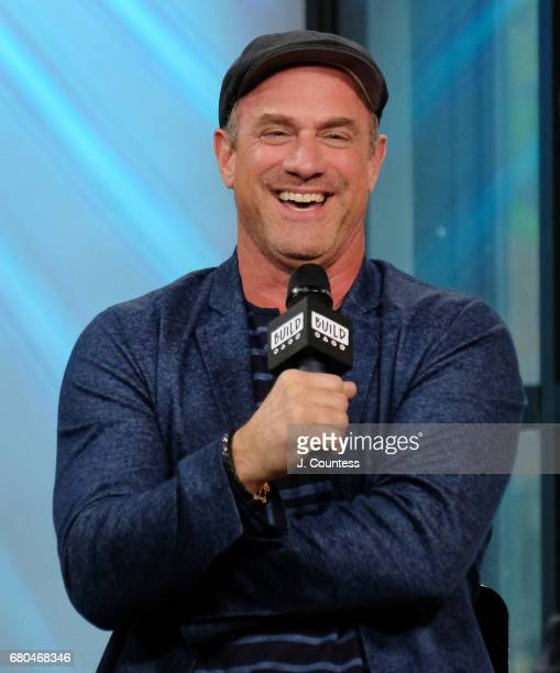 Actor Chris Meloni attends the Build Series to discuss the New Movie Snatched at Build Studio on May 8 2017 in New York City