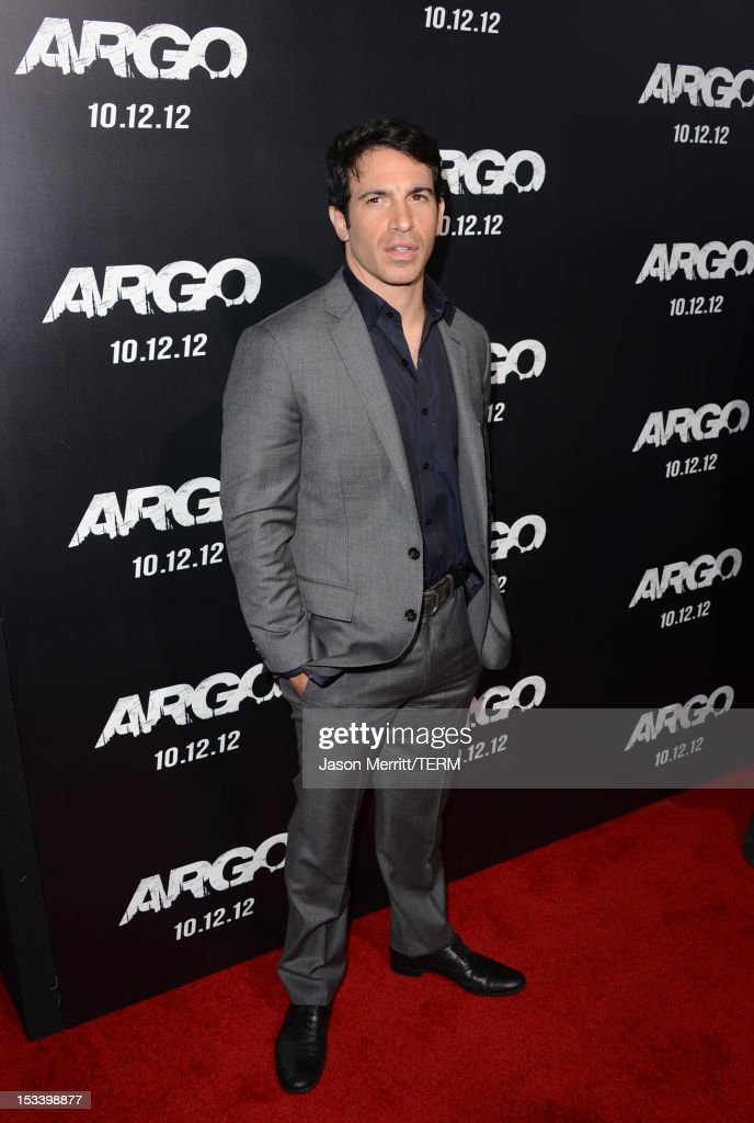 Actor Chris Messina arrives at the premiere of Warner Bros. Pictures' 'Argo' at AMPAS Samuel Goldwyn Theater on October 4, 2012 in Beverly Hills, California.
