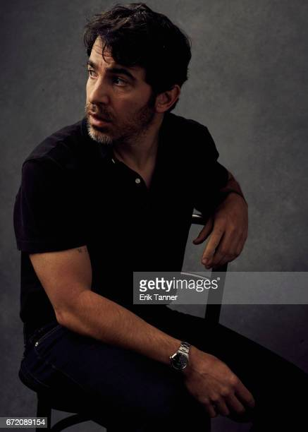 Actor Chris Messina from 'Blame' poses at the 2017 Tribeca Film Festival portrait studio on on April 23 2017 in New York City