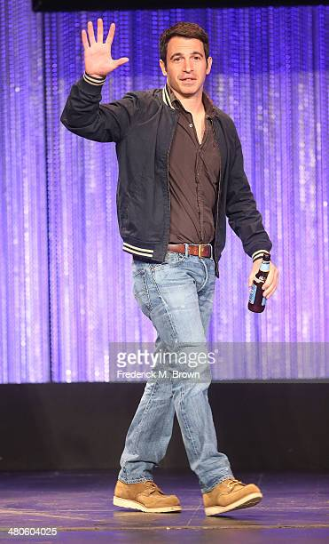 Actor Chris Messina speaks during The Paley Center for Media's PaleyFest 2014 Honoring 'The Mindy Project' at the Dolby Theatre on March 25 2014 in...