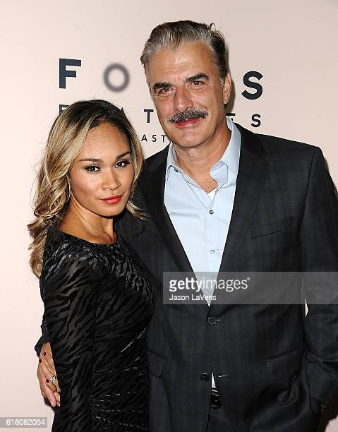 Actor Chris Noth and wife Tara Wilson attend the premiere of Loving at Samuel Goldwyn Theater on October 20 2016 in Beverly Hills California