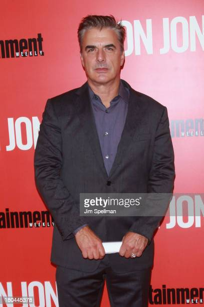 Actor Chris Noth attends 'Don Jon' New York Premiere at SVA Theater on September 12 2013 in New York City