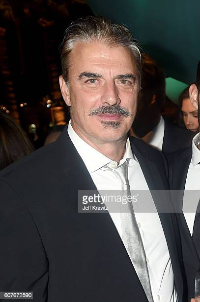 Actor Chris Noth attends HBO's Official 2016 Emmy After Party at The Plaza at the Pacific Design Center on September 18 2016 in Los Angeles California