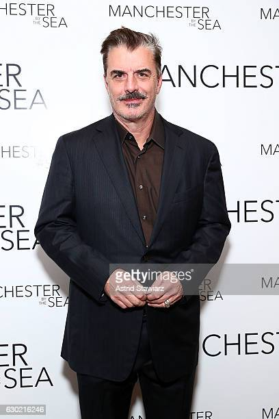 Actor Chris Noth attends Louis Vuitton presents A Special Screening Of Manchester By The Sea at Crosby Street Hotel on December 18 2016 in New York...