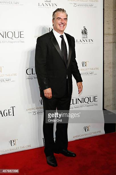 Actor Chris Noth attends the American Ballet Theatre 2014 Opening Night Fall Gala at David H. Koch Theater at Lincoln Center on October 22, 2014 in...