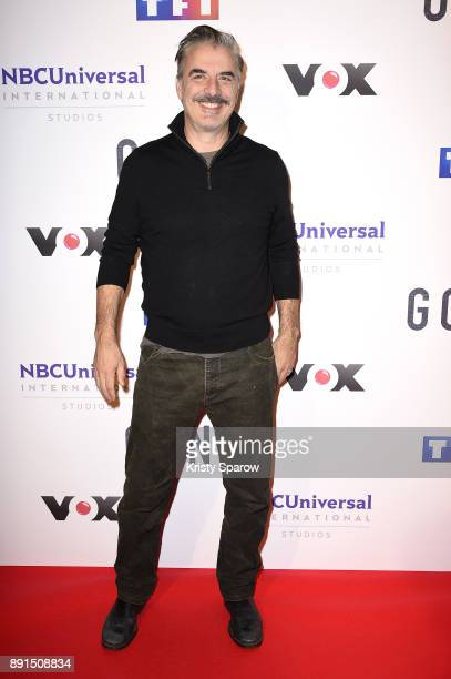 Actor Chris Noth attends the 'Gone' Paris Photocall at Hotel Meurice on December 13 2017 in Paris France