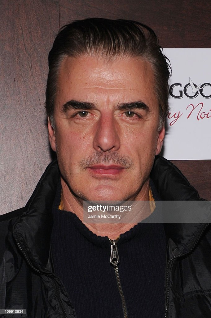 Actor Chris Noth attends the Grey Goose Blue Door 'Lovelace' Party on January 22, 2013 in Park City, Utah.