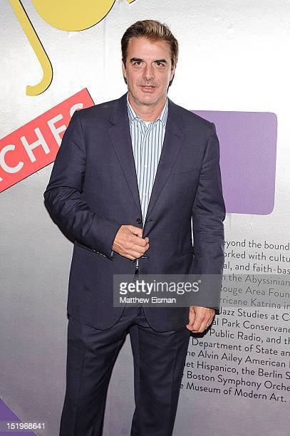 Actor Chris Noth attends the Jazz at Lincoln Center 25th Anniversary season opening night at Jazz at Lincoln Center on September 13 2012 in New York...