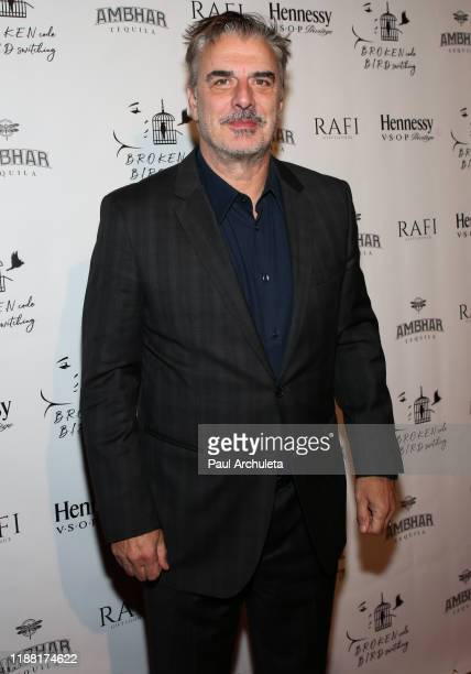 Actor Chris Noth attends the media night preview of BROKEN Code BIRD Switching at S Feury Theater on November 16 2019 in Los Angeles California