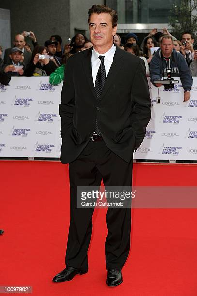 Actor Chris Noth attends the National Movie Awards 2010 at the Royal Festival Hall on May 26 2010 in London England