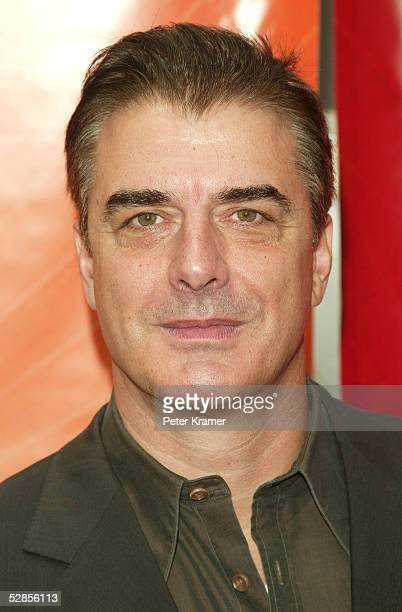 Actor Chris Noth attends the NBC upfront at Radio City Music Hall on May 16 2005 in New York City