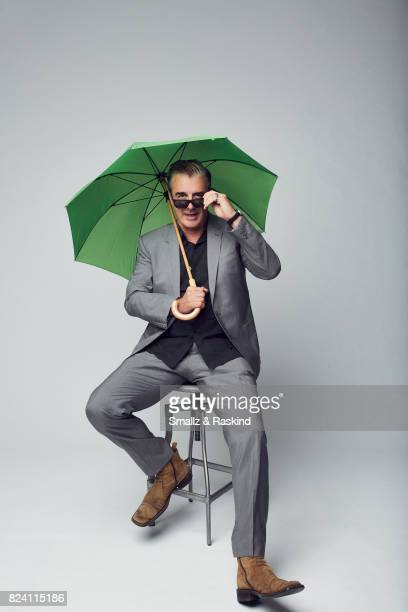 Actor of Discovery Communications 'Discovery Channel Manhunt Unabomber' poses for a portrait during the 2017 Summer Television Critics Association...