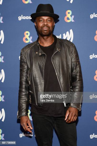 Actor Chris Obi arrives at the 'American Gods' advance screening In Partnership with GLAAD at The Paley Center for Media on May 10, 2017 in Beverly...