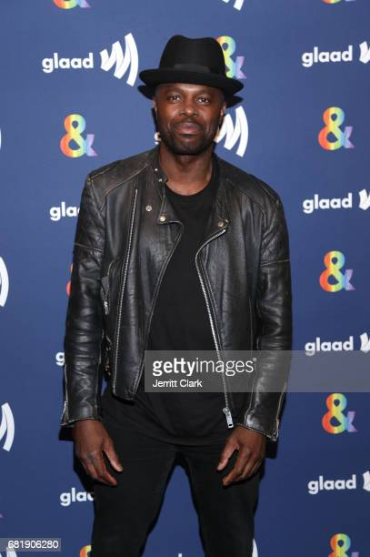 """Actor Chris Obi attends STARZ's Presents A Special Screening Of """"American Gods"""" In Partnership With GLAAD at The Paley Center for Media on May 10,..."""