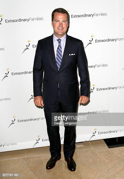 Actor Chris O'Donnell arrives at the Extraordinary Families Gala at The Beverly Hilton Hotel on April 20 2016 in Beverly Hills California