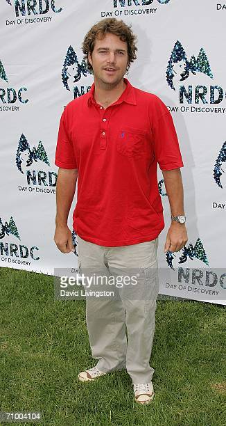 Actor Chris O'Donnell arrives for the Natural Resource Defense Council's Day of Discovery at the Wadsworth Theater Grounds on May 21 2006 in...