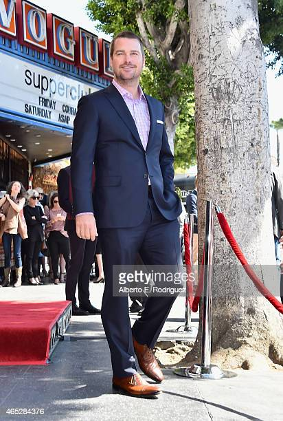 Actor Chris O'Donnell attends a ceremony honoring him with the 2544th Star on Hollywood Walk Of Fame on March 5 2015 in Hollywood California