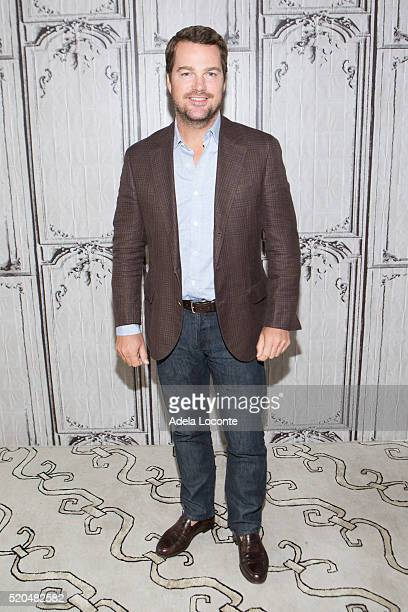 Actor Chris O'Donnell attends 'NCISLos Angeles' at AOL Studios In New York on April 11 2016 in New York City