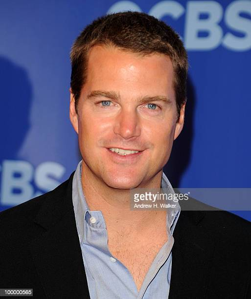 Actor Chris O'Donnell attends the 2010 CBS UpFront at Damrosch Park Lincoln Center on May 19 2010 in New York City
