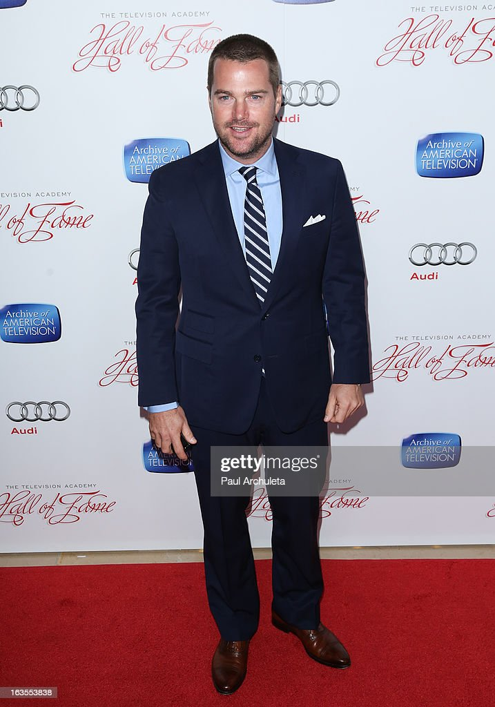 Actor Chris O'Donnell attends the Academy Of Television Arts & Sciences 22nd annual Hall Of Fame induction gala at The Beverly Hilton Hotel on March 11, 2013 in Beverly Hills, California.