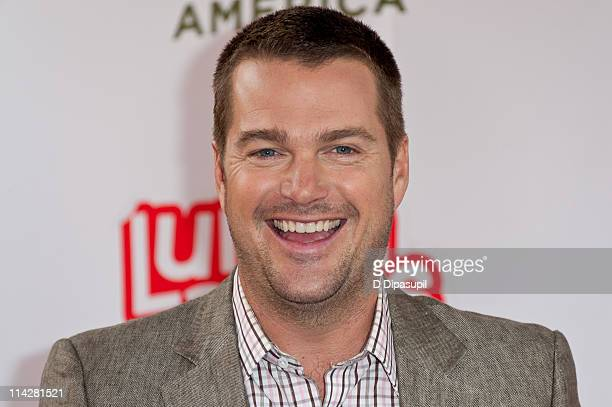 Actor Chris O'Donnell attends the Feeding America fruit donation at Military Island Times Square on May 17 2011 in New York City