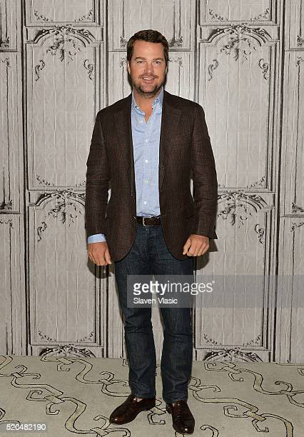 Actor Chris O'Donnell visits AOL Build to discuss his hit series 'NCISLos Angeles' at AOL Studios In New York on April 11 2016 in New York City