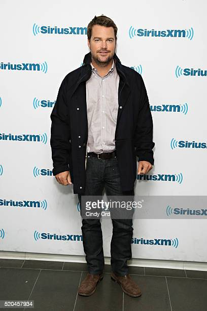 Actor Chris O'Donnell visits the SiriusXM Studio on April 11 2016 in New York City