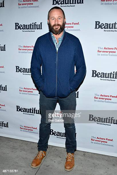 Actor Chris O'Dowd attends the Actors Fund Benefit Performance of 'Beautiful The Carole King Musical' at Stephen Sondheim Theatre on April 27 2014 in...