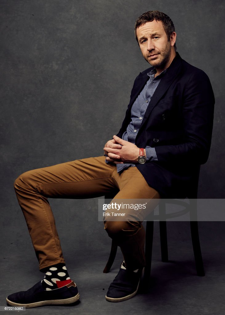 Actor Chris O'Dowd from 'Love After Love' poses at the 2017 Tribeca Film Festival portrait studio on on April 22, 2017 in New York City.
