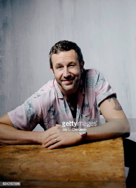Actor Chris O'Dowd from the film The Incredible Jessica James is photographed at the 2017 Sundance Film Festival for Los Angeles Times on January 21...