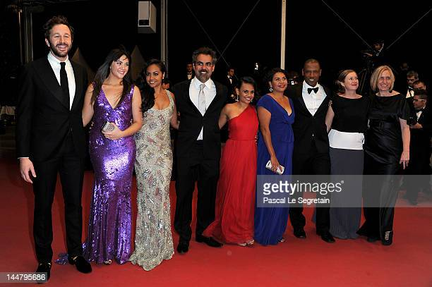 Actor Chris O'Dowd Shari Sebbens Jessica Mauboy director Wayne Blair Miranda Tapsell Deborah Mailman and Tory Kittles attend the 'The Sapphires'...