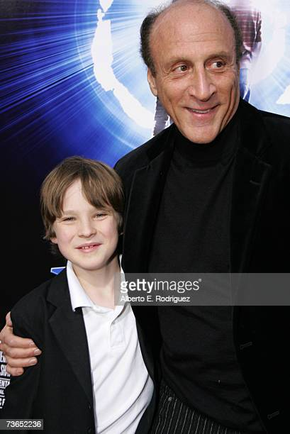 Actor Chris O'neil and Producer Michael Phillips arrive at the premiere of New Line's The Last Mimzy held at the The Mann Village Theatre on March 20...