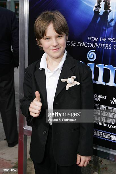 Actor Chris O'neil arrives at the premiere of New Line's The Last Mimzy held at the The Mann Village Theatre on March 20 2007 in Westwood California