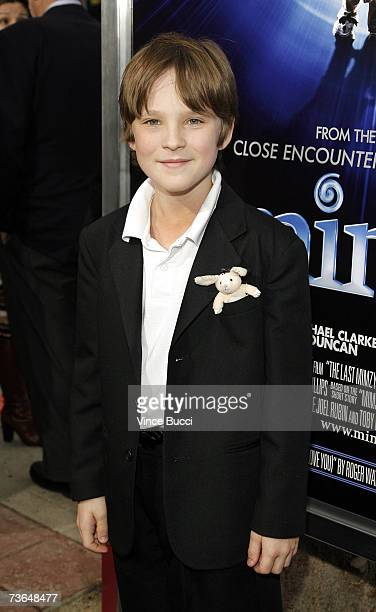 Actor Chris O'Neil attends the West Coast premiere of the New Line Cinema film The Last Mimzy on March 20 2007 in Los Angeles California