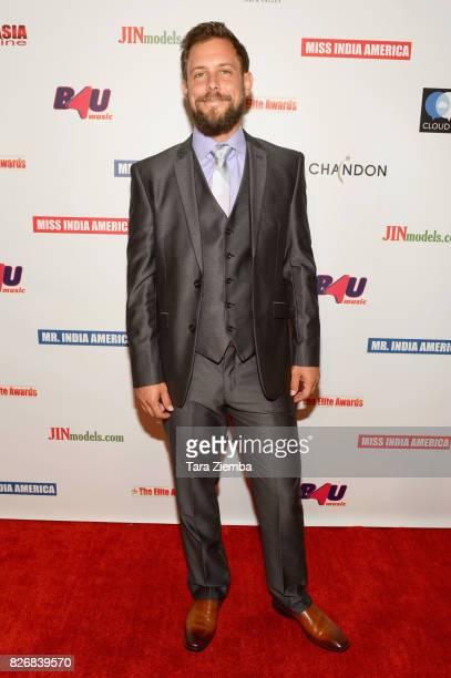 Actor Chris Osborn attends the Elite Awards ceremony charity gala for Jagriti at Renaissance Los Angeles Airport Hotel on August 5 2017 in Los...