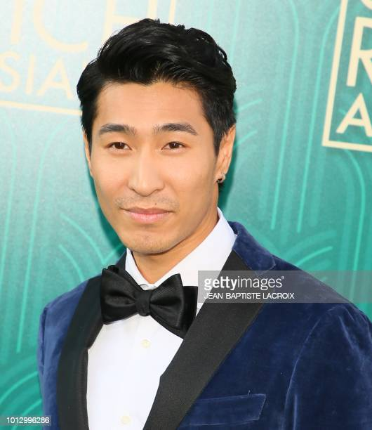 Actor Chris Pang attends the premiere of Warner Bros Pictures' 'Crazy Rich Asians' in Hollywood California on August 7 2018