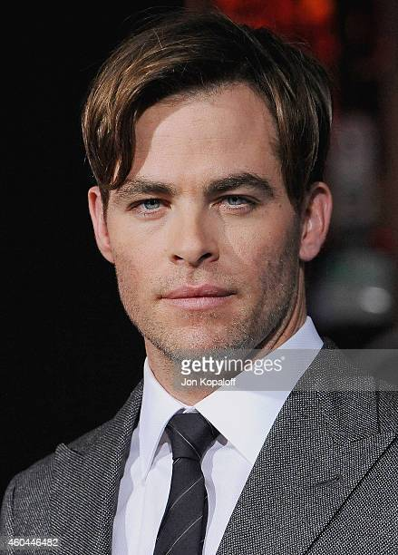 Actor Chris Pine arrives at the Los Angeles Premiere 'Horrible Bosses 2' at TCL Chinese Theatre on November 20 2014 in Hollywood California