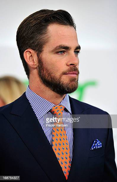 Actor Chris Pine arrives at the premiere of Paramount Pictures' 'Star Trek Into Darkness' at the Dolby Theatre on May 14 2013 in Hollywood California