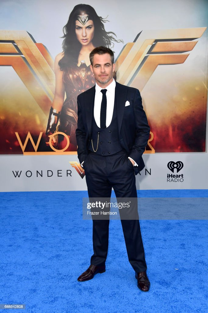 Actor Chris Pine arrives at the Premiere Of Warner Bros. Pictures' 'Wonder Woman' at the Pantages Theatre on May 25, 2017 in Hollywood, California.