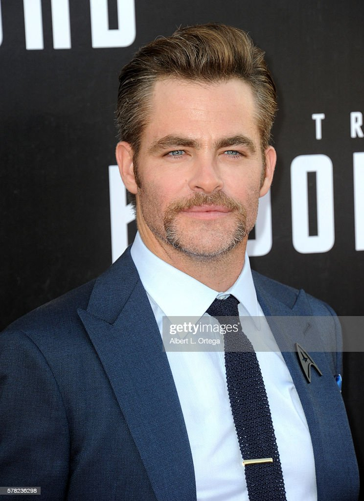 Actor Chris Pine arrives for the Premiere Of Paramount Pictures' 'Star Trek Beyond' held at Embarcadero Marina Park South on July 20, 2016 in San Diego, California.
