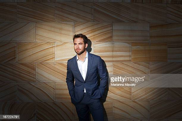 Actor Chris Pine at the 'Star Trek Into Darkness' photo call on April 23 2013 in Sydney Australia